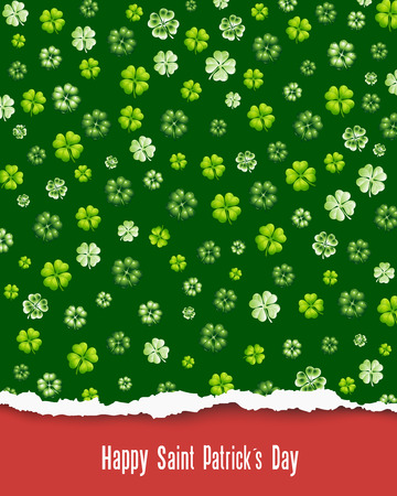 Happy Saint Patrick s Day Vector