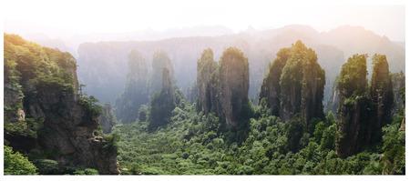 superficie: �rea esc�nica Zhangjiajie