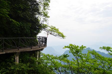 spot: Zhangjiajie Wulingyuan Scenic Spot Stock Photo