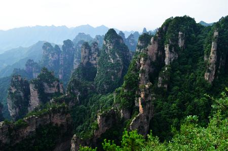 Zhangjiajie Wulingyuan Scenic Spot Reklamní fotografie
