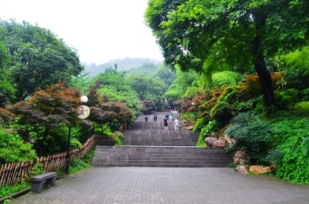 Yuelu mountain scenic spot Reklamní fotografie