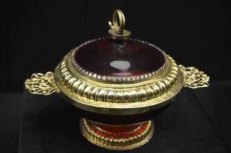 porcelain: France glass porcelain