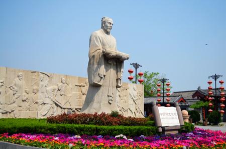 song dynasty: Qingming Riverside garden sculpture Zhang zeduan Editorial