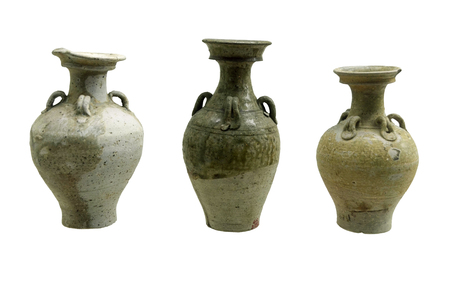 wei: Period of the Northern Wei in three long-neck bottles