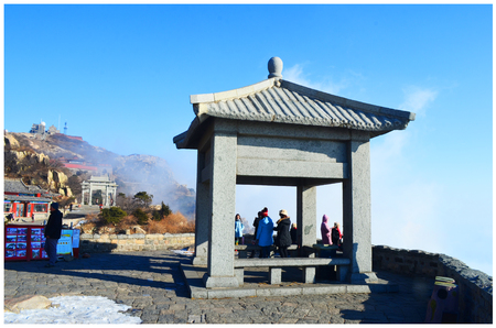 province: Mount Tai in Shandong province