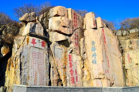 tang: Shandong Taishan Cliff Tang