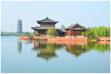 ba: Fuyang BA Li River scenic area Editorial