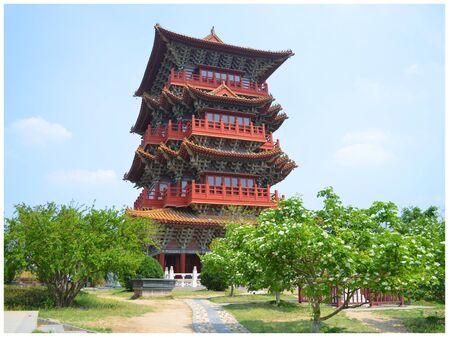 riverside: Qingming riverside landscape garden