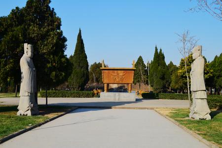 Bozhou Wei Wu Temple Standard-Bild