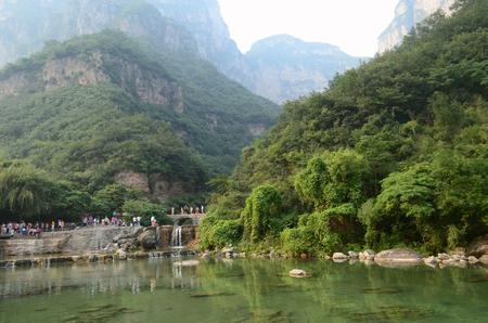 redstone: Jiaozuo, Yuntai Mountain