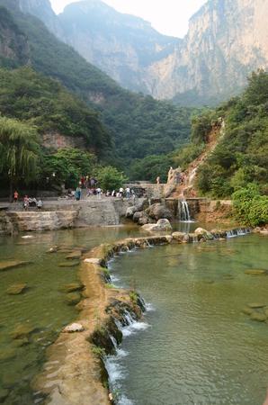 thousand: Yuntai Mountain scenery