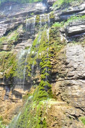 thousand: Yuntai Mountain waterfall Stock Photo