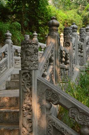 redstone: Yuntai Mountain stairs