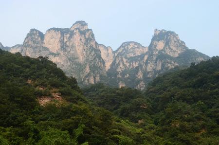 redstone: Henan, Jiaozuo, Yuntai Mountain