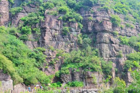 redstone: Yuntai Mountain, Henan, Jiaozuo