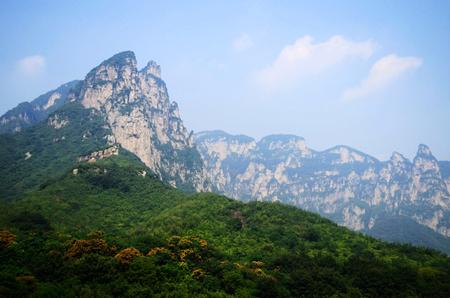 Henan, Jiaozuo, Yuntai Mountain