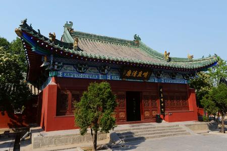 Henan Bao Temple Редакционное