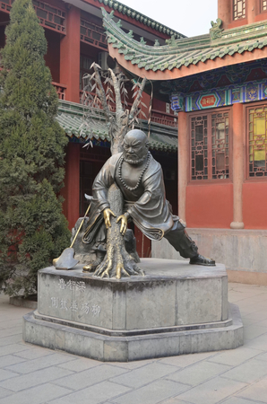 Statue in  Kaifeng daxiangguo Temple