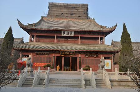 View of a chinese temple Redakční