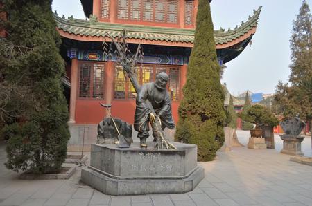 Statue in Kaifeng daxiangguo Temple Redakční