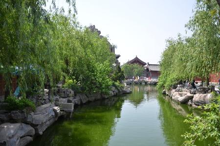 song dynasty: Kaifeng House, Henan. Stock Photo
