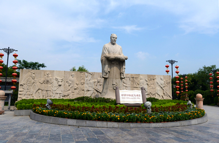towering: china qingming cultural scenic