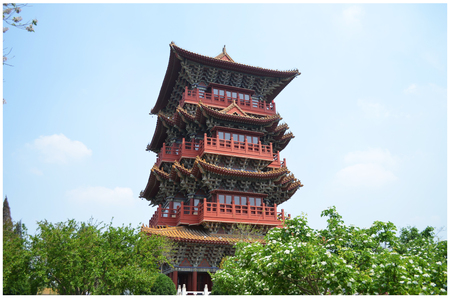 Kaifeng Qingming pagoda Editorial