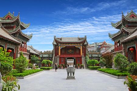 Henan Kaifeng berg en Shanxi gilde hal Redactioneel