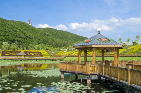 劉鼎山風景景観、敦化