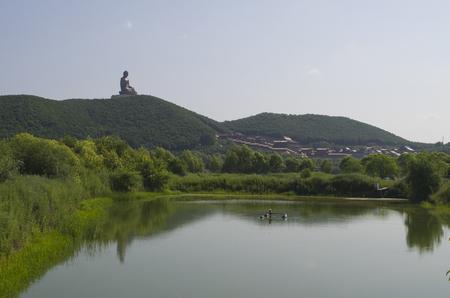 敦化劉鼎山風景区 写真素材