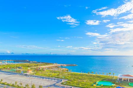 Ocean view in Okinawa