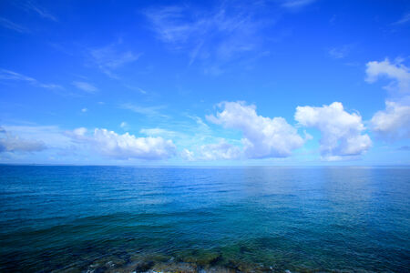 Horizon and the sea of Okinawa 免版税图像 - 27424251