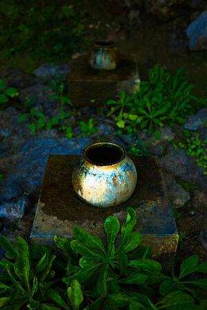 hallowed: Pot of Sefa Utaki, spiritual space in Okinawa, japan
