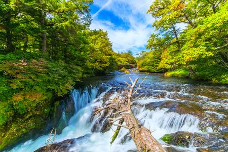 Yukawa waterfall 免版税图像