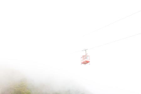 ropeway: Ropeway in the Fog