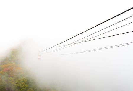 Ropeway in the Fog photo