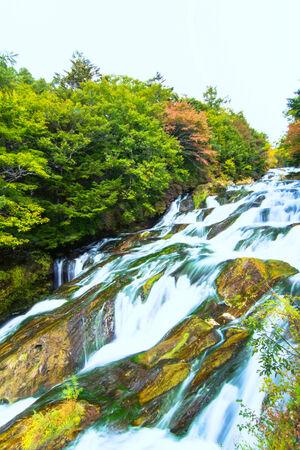 Yukawa river in Nikko, Japan