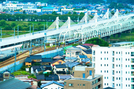 Toyama City, urban landscape