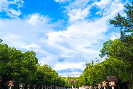 Sky at the Kashihara jingu