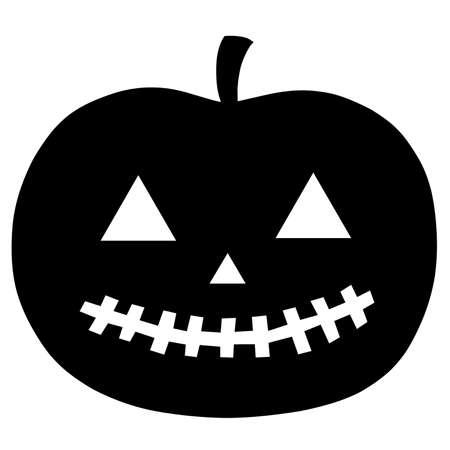 Halloween Pumpkin Silhouette
