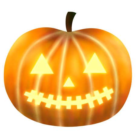 Halloween Pumpkin Ghosts 写真素材