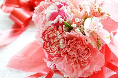 carnation bouquet photo