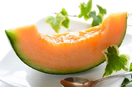 melon for dessert Archivio Fotografico