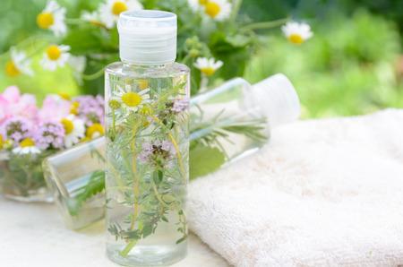 cosmeticos: cosméticos naturales Foto de archivo