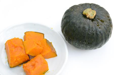 pumpkin in white background Standard-Bild