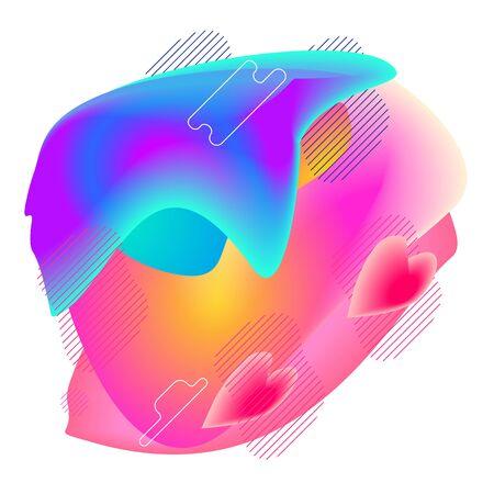 Gradient modern abstraction 向量圖像