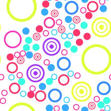 Buntes kreisförmiges Muster.