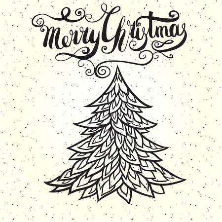 Merry christmas insignia and labels for any use Illustration