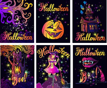 Beautiful big Halloween set.