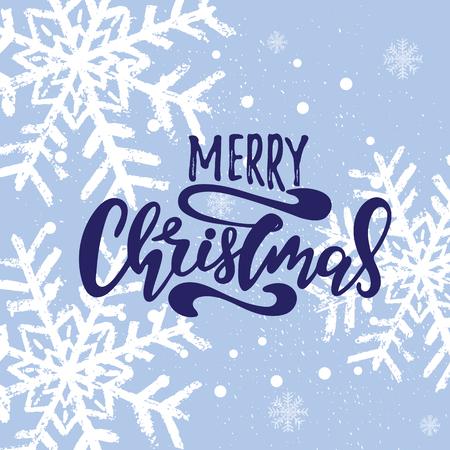 Frohe Weihnachten Vektortext Kalligraphische Beschriftung Design-Kartenvorlage. Kreative Typografie für Weihnachtsgruß-Geschenkplakat. Kalligraphie Schriftart Banner.